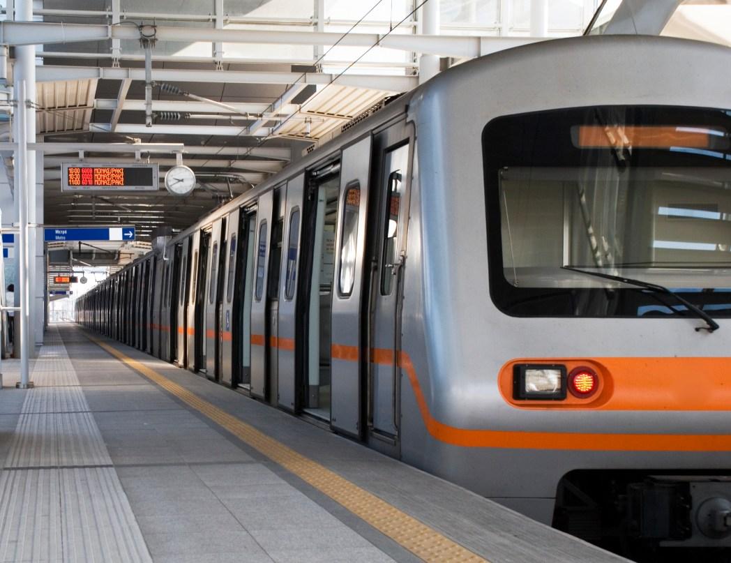 Athens metro network