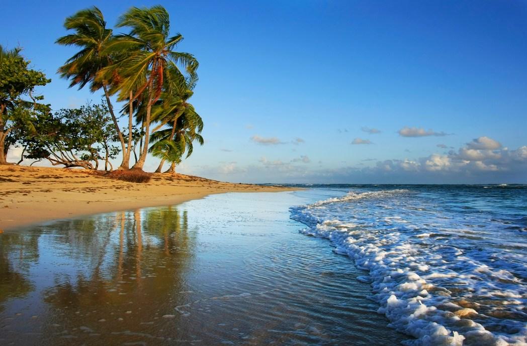 St. Martin Beach,  Caribbean