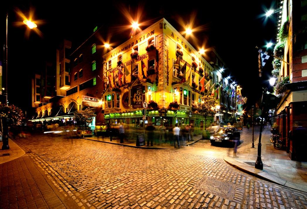 Nightlife in Dublin, Ireland