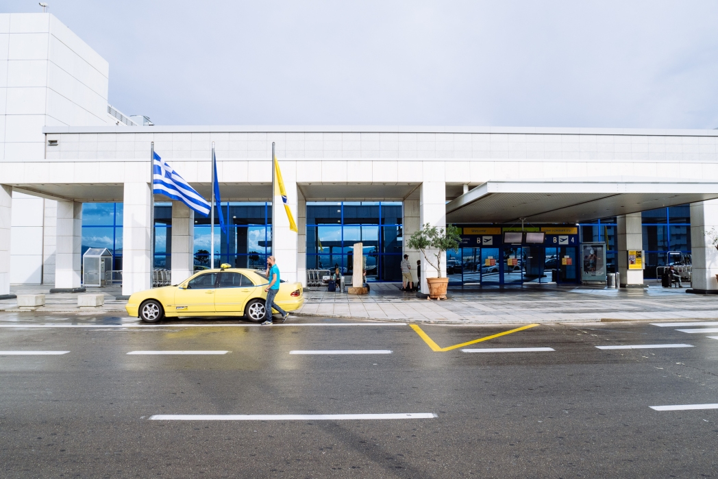 Athens airport in Greece