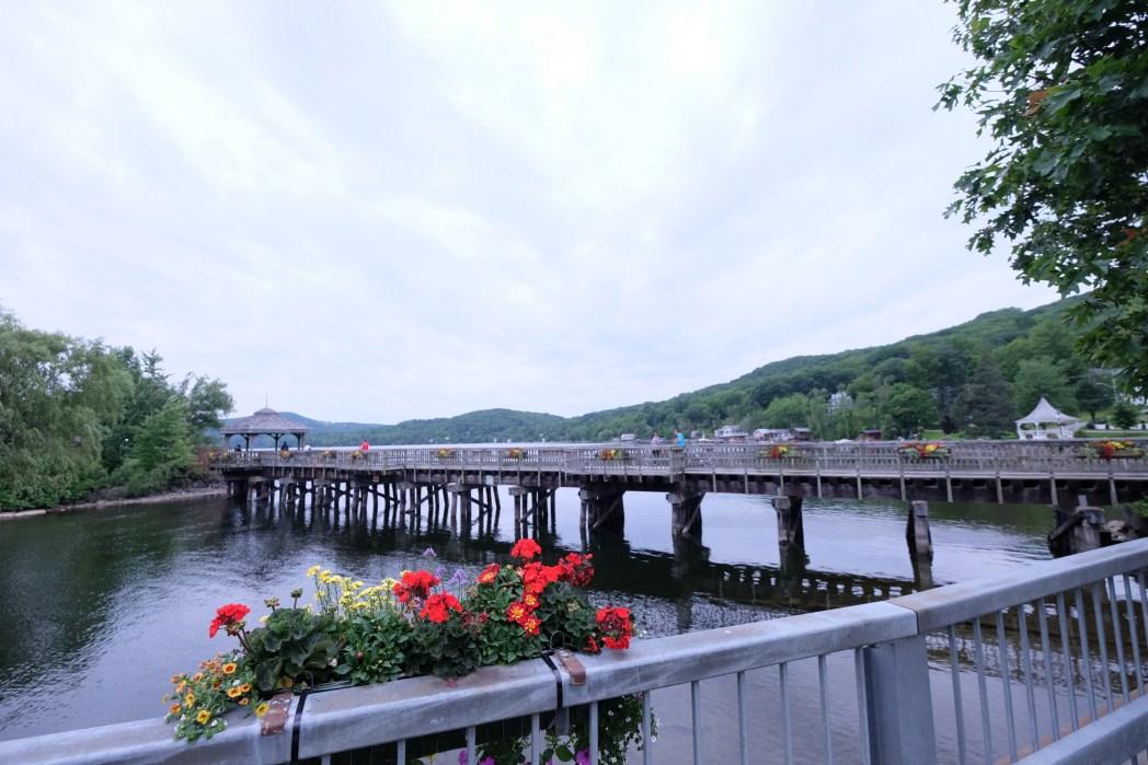 Bridge in the town of North Hatley, Quebec